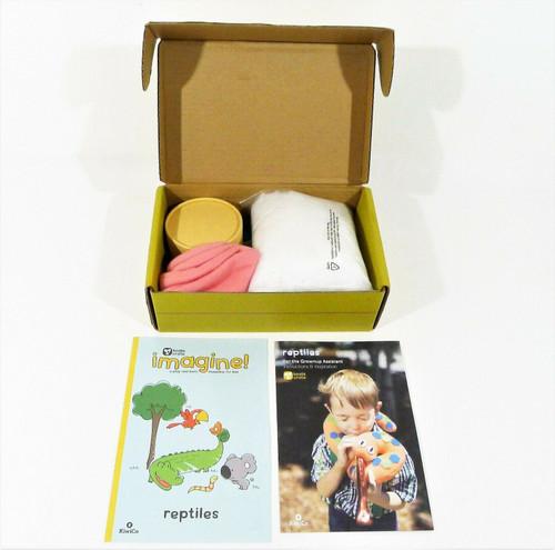 KiwiCo Fizzy Reptiles Ages 5+ - OPEN BOX - STICKER ON BOX