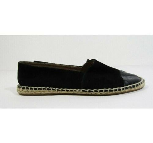 Topshop Women's Black Slip-On Espadrille Shoes Size 36 / 5.5 U.S.