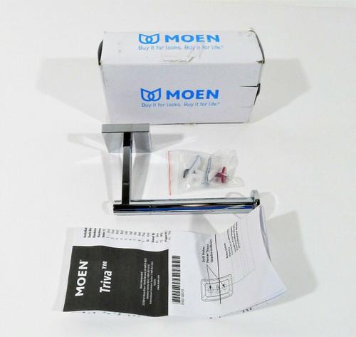 Moen Triva Single-Post Toilet Paper Holder in Chrome BP1808CH  - OPEN BOX