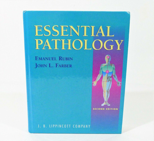 Essential Pathology Second Edition Hardcover Book by Emanuel Rubin