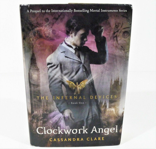 Clockwork Angel Hardcover Book by Cassandra Clare - INSCRIBED BY AUTHOR
