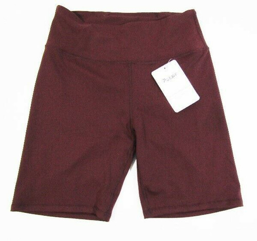 Persit Active Lifestyle Women's Maroon Bicycle Shorts Size M **NEW WITH TAGS**