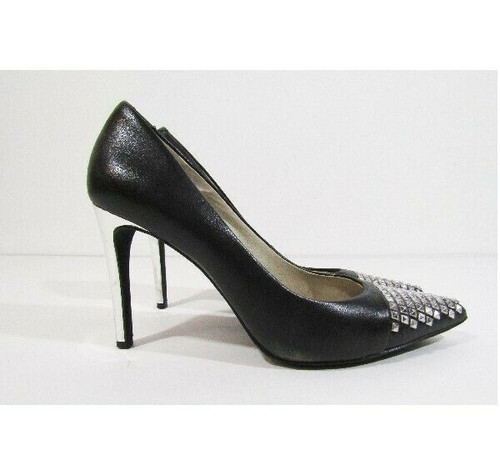 Michael Kors Women's Black Studded Pointy Toe Pumps Size 7.5M