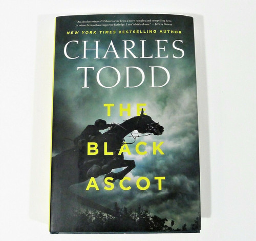 The Black Ascot Hardback Book - **STAINED DUSTCOVER AND HARDCOVER