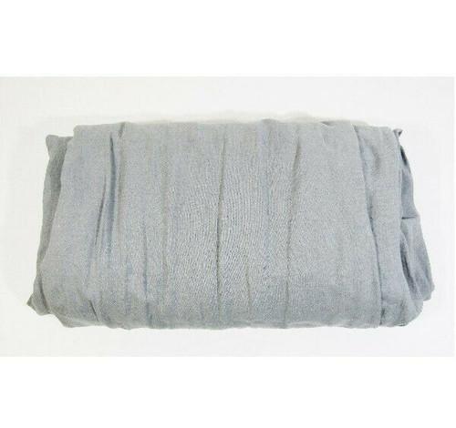 "CB2 Gray Linen Cement Full/Queen Size Duvet Cover 88"" x 92"" / 224cm x 234cm"