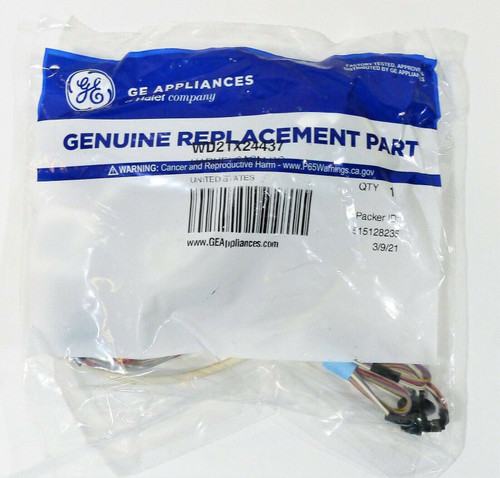 GE Appliances WD21X24437 Harness Assembly OEM Part - NEW