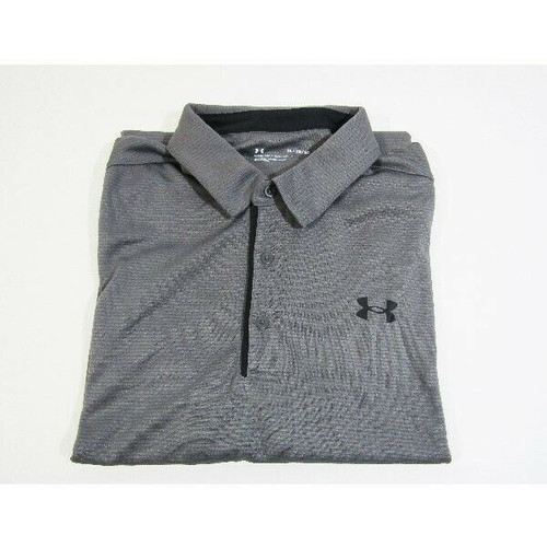 Under Armour Men's Gray Short Sleeve Loose Fit Polo Shirt Size XL *NEW WITH TAGS