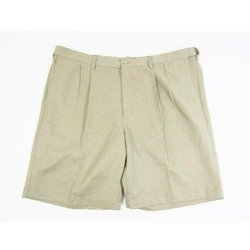 Haggar Clothing Co. Men's Khaki Bermuda Shorts Size 44