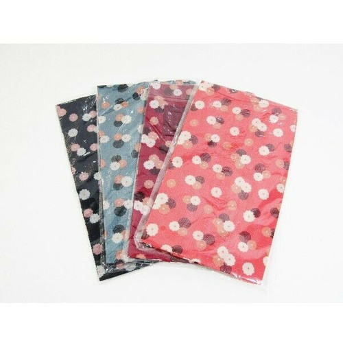 M-Jump Women's 4 Pack Multicolor Floral Travel Shoe Bags **NEW IN PACKAGE**