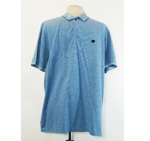 Banana Republic Men's Blue Short Sleeve Polo Shirt Size XL