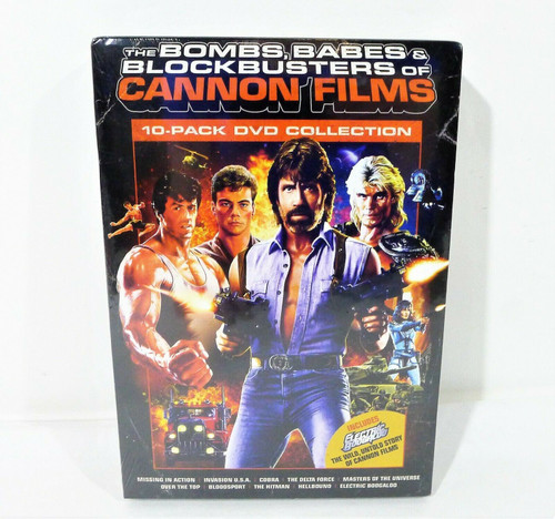 Cannon Films Collection 10 Pack DVD Collection Box Set - NEW SEALED