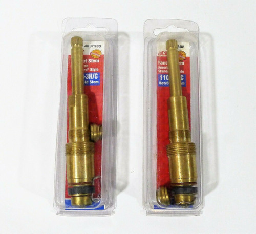 Set of 2 Ace Faucet Stem American Standard 11C-3H/C 4037388 - NEW
