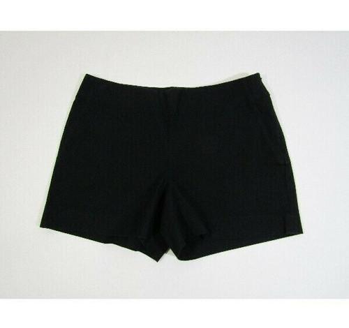 Banana Republic Women's Black Side Zip Chino Shorts Size 2