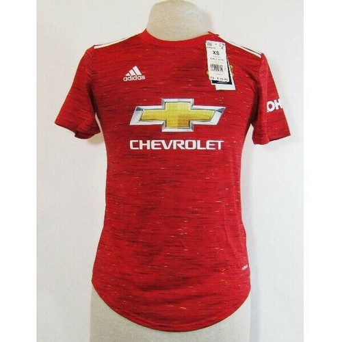 Adidas Aeroready Women's Manchester United 20/21 Home Jersey Size XS **NWT**