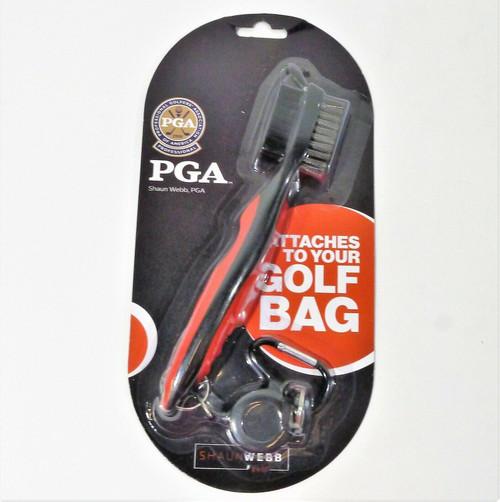 Shaun Webb Golf Brush Cleaner Set - NEW SEALED