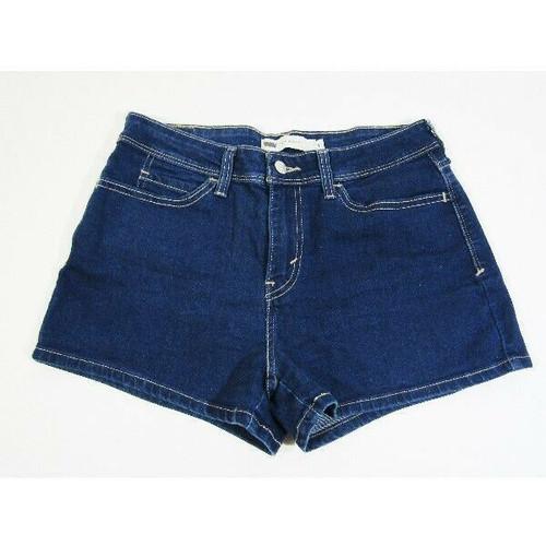 Levi Strauss & Co. Women's Dark Wash High Rise Shorts Size 7