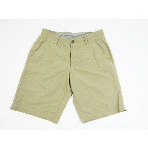 Under Armour Heat Gear Men's Classic Khaki Golf Shorts Size 32