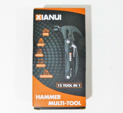 Xianui Hammer Multi-Tool 12 Tools in 1 - OPEN BOX