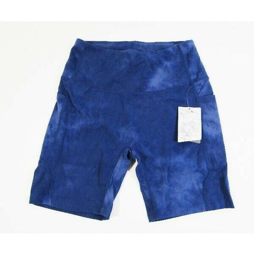 Baleaf Women's Blue High Waisted Yoga/Bike Shorts Size M **NEW WITH TAGS**