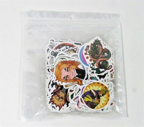200 Anime Vinyl Sticker Pack - NEW SEALED