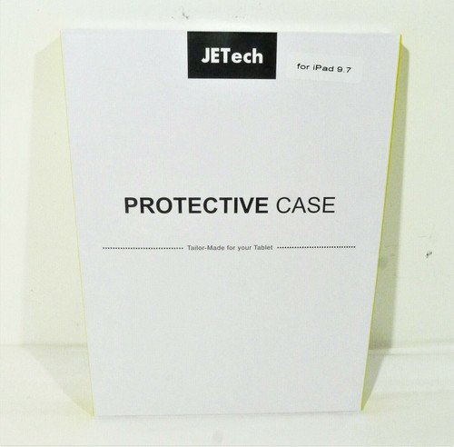 JETech Black Protective Case for iPad 9.7 Smart Cover - NEW SEALED