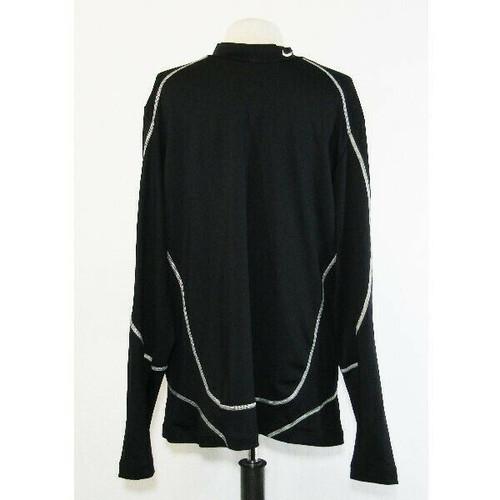 Nike Golf Dri-Fit Men's Black Long Sleeve Activewear Top Size XL