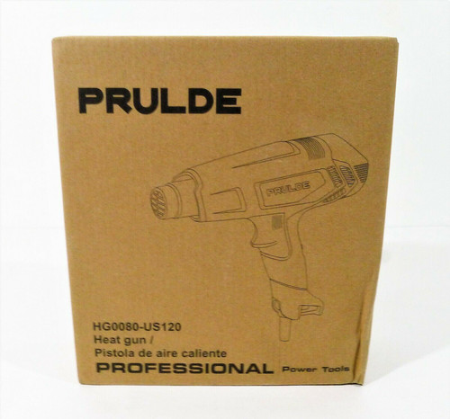 Prulde Heat Gun Hot Air Kit Dual Temperature Settings Model HG008 - OPEN BOX