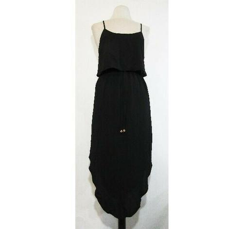 Nerlerolian Women's Black Sleeveless Midi Dress Size Large **NEW WITH TAGS**