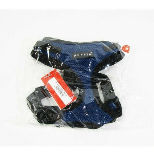 Puppia Ritefit Royal Blue Soft Harness Size Medium **NEW WITH TAGS**
