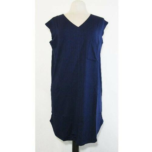 Rachel Hollis Women's Navy Blue Sleeveless T-Shirt Dress Size S **NEW IN PACKAGE