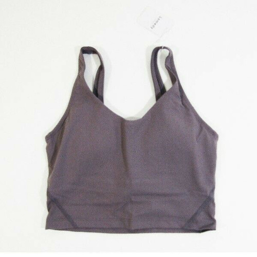 Lemedy Women's Padded Lavender Sports Bra Size 6 **NEW WITH TAGS**