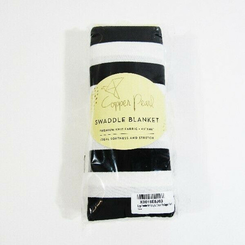 """Copper Pearl Premium Knit Swaddle Blanket 46""""x46"""" **NEW IN PACKAGE**"""