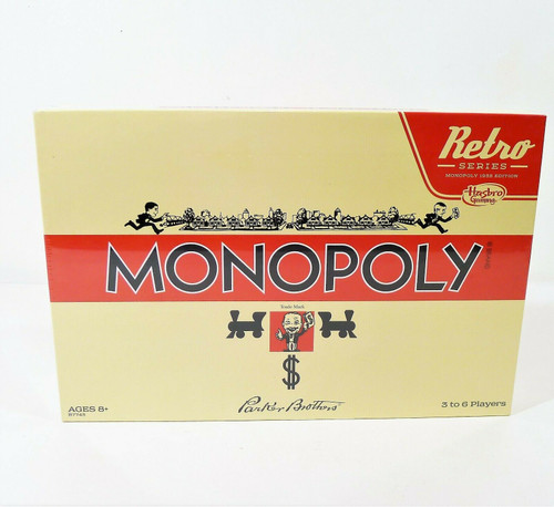 Retro New Monopoly Monopoly Game 1935 Edition - NEW SEALED