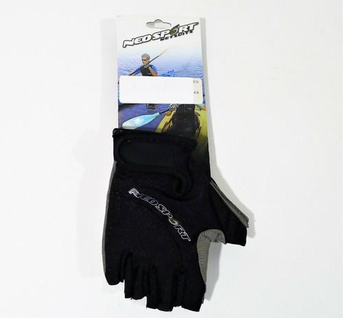 NeoSport Black 3/4 Fingerless Neoprene Gloves 1.5mm Size XS - NEW