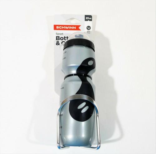 Schwinn Bike Waterbottle Holder - Cage with Water Bottle - NEW