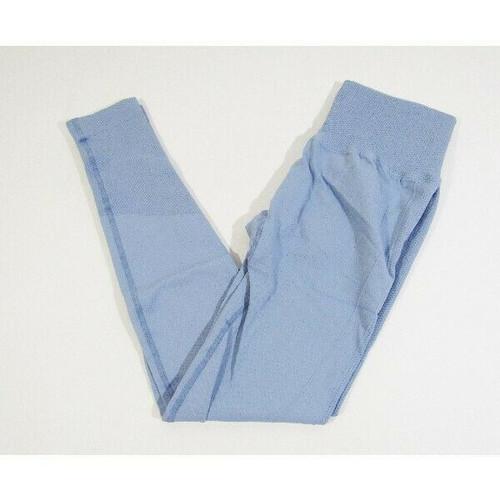 Suuksess Women's Blue Scrunch Athletic/Yoga Leggings Size S **NEW IN PACKAGE**