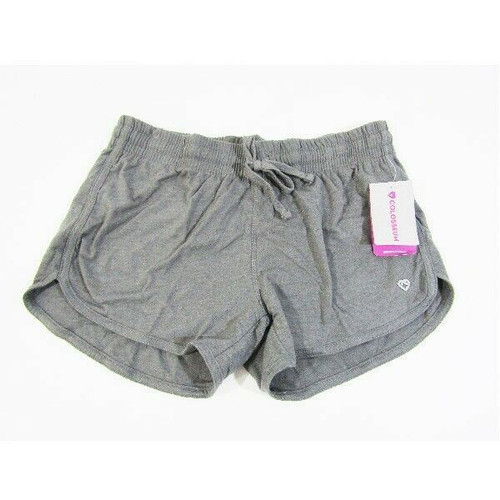 Colosseum Women's Gray 4-Way Stretch Athletic Shorts Size Medium **NEW WITH TAGS