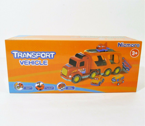 Nicmore Transport Vehicle 5 in 1 Carrier Toy Truck Toddler Toys - NEW