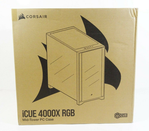 Corsair iCUE 4000X RGB Mid Tower PC Case   LOCAL PICKUP ONLY, AUSTIN TX