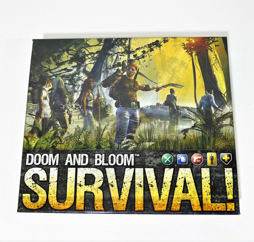 Doom and Bloom SURVIVAL! Board Game COMPLETE/INCOMPLETE??