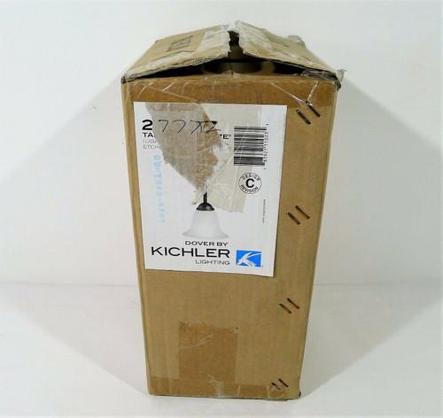 Kichler Dover Bronze Seeded Glass Bell Mini Pendant Light 2771TZ  - OPEN BOX