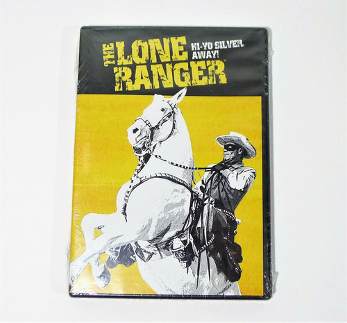 The Lone Ranger Hi-Yo Silver Away DVD - NEW SEALED