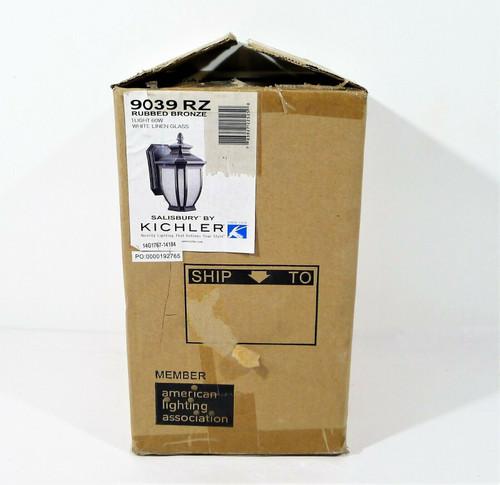 "Kilchler Rubbed Bronze  Salisbury 10.25"" Outdoor Wall Sconce 9039 RZ - OPEN BOX"