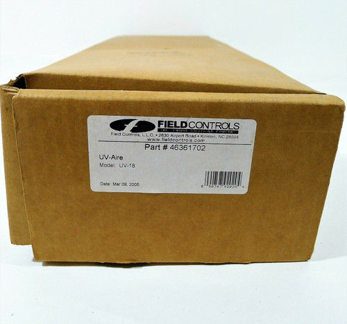 Field Controls 46361702 UV-18 Ultra Violet in Duct Air Purification System 18-In