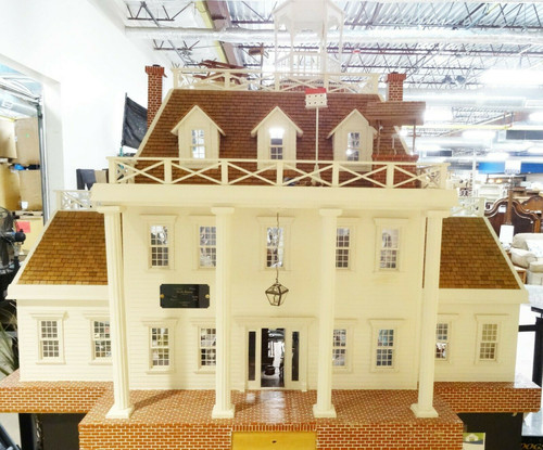 Large Ante-Bellum Style Handmade Doll House   LOCAL PICKUP ONLY, AUSTIN TX