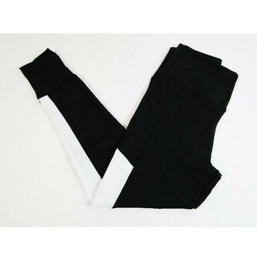 Trilece Women's Black & White Leggings w/ Pockets Size M **NEW IN PACKAGE**