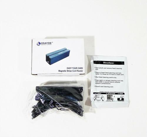 IT Osayde 90D USB Magnetic Strip Card Swipe Reader - OPEN BOX