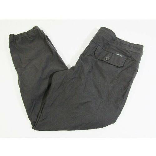 Eddie Bauer Women's Gray Outdoor/Hiking Joggers w/ Pockets Size 16
