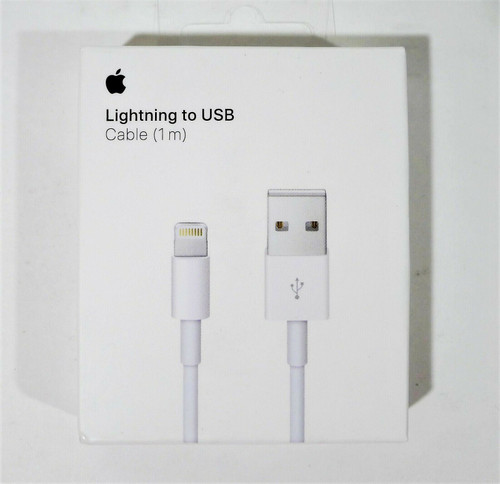 Apple White Lightning to USB Cable (1 m) - NEW