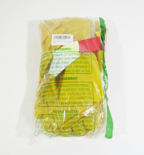 VGO 10 Pairs Reusable Yellow Rubber Cleaning Gloves Size S **NEW IN PACKAGE**